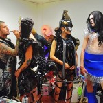 Omega Collektiv Fashion Show - Backstage final touch up by - Rainblo